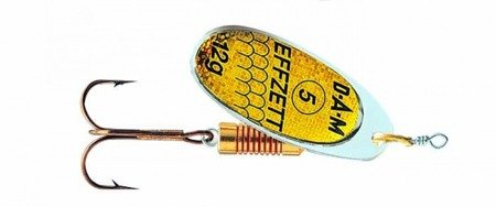 Błystka Obrotówka DAM EFFZETT STANDARD SPINNER Reflex Gold 4 / 10g