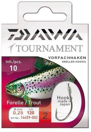 Haki z przyponami Daiwa Tournament Pstrąg nr 4