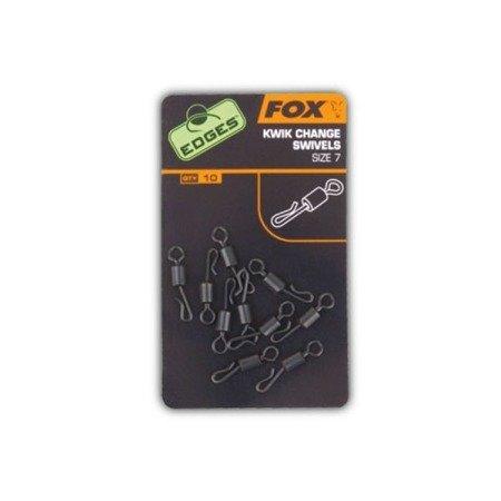 Krętlik do szybkiej wymiany Fox EDGES™ Kwik Change Swivel