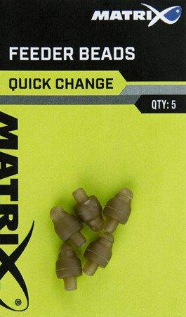 Łączniki Matrix QUICK CHANGE FEEDER BEADS 5szt