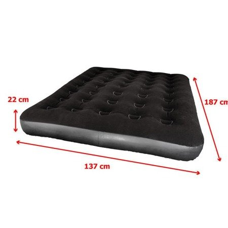 Materac welurowy Meteor DOUBLE 188 x 137 x 22 cm
