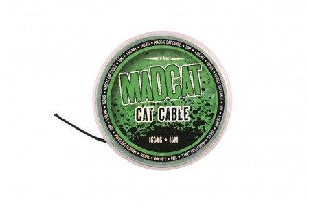 Plecionka przyponowa DAM MADCAT CAT CABLE 10m - 1,35mm -160kg