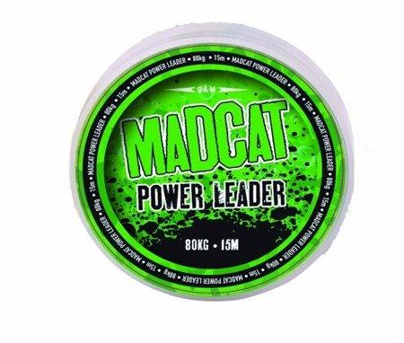 Plecionka przyponowa MADCAT POWER LEADER 130kg - 15m